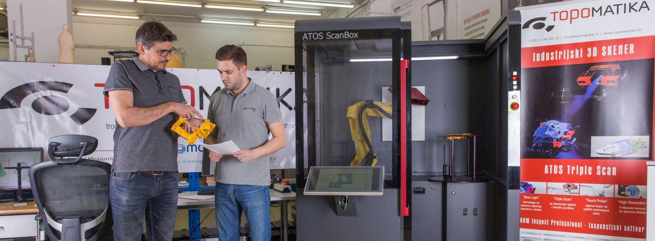 Automatizirano optičko 3D mjerenje