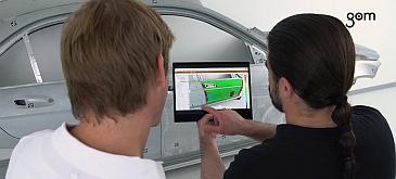 Augmented Reality u 3D mjeriteljstvu – GOM Software 2018